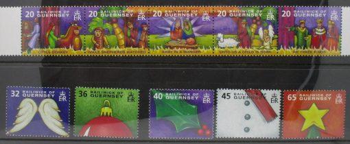 Guernsey Stamps, 2004, SG1050a, SG1055-1059, Mint 5