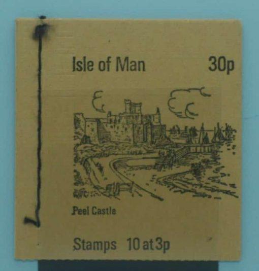 Isle of Man Stamps, 1973, SB3, Mint 5