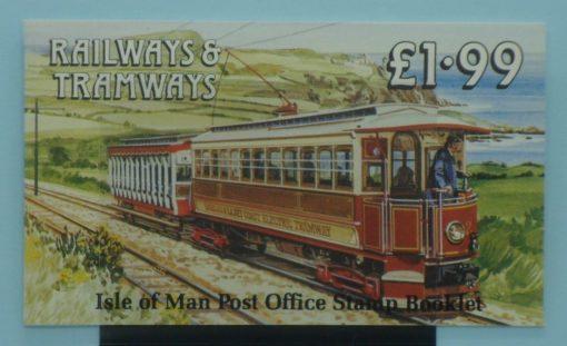 Isle of Man Stamps, 1988, SB19, Mint 5
