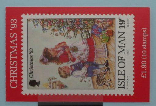 Isle of Man Stamps, 1993, SB35, Mint 5