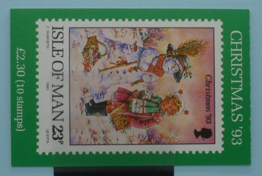 Isle of Man Stamps, 1993, SB36, Mint 5