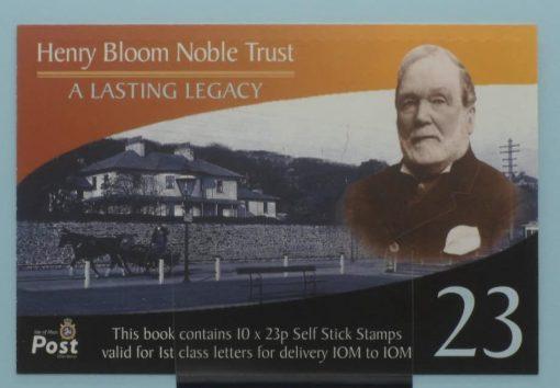 Isle of Man Stamps, 2003, SB57, Mint 5