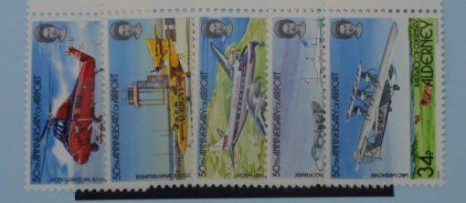Alderney Stamps, 1985, SGA18-A22, Mint 3