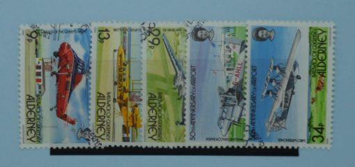 Alderney Stamps, 1985, SGA18-A22, Used 5