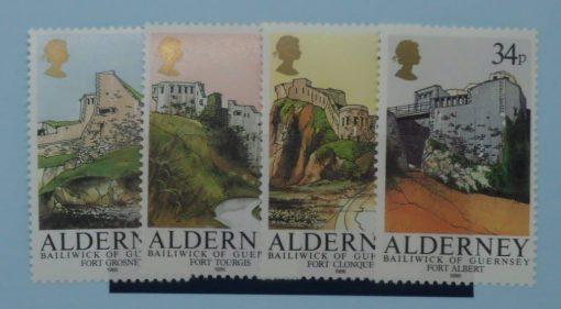 Alderney Stamps, 1986, SGA28-31, Mint 3