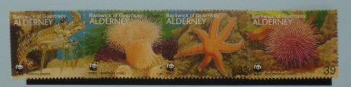 Alderney Stamps, 1993, SGA56-A59, Mint 5