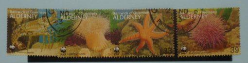 Alderney Stamps, 1993, SGA56-A59, Used 3