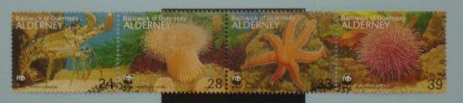 Alderney Stamps, 1993, SGA56a, Used. 5