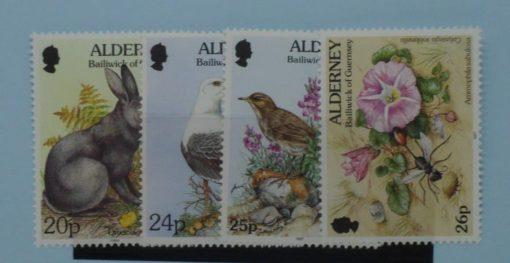Alderney Stamps, 1994-98, SGA71-A72c, Mint 5