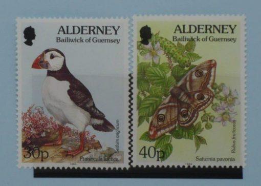 Alderney Stamps, 1994-98, SGA73-A74, Mint 5
