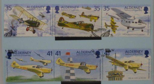 Alderney Stamps, 1995, SGA78a, SGA81, Used. 5