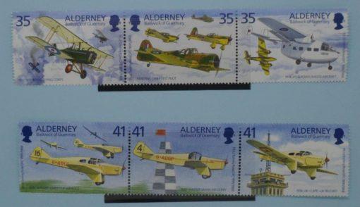 Alderney Stamps, 1995, A78a, A81a, Mint 5