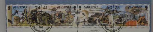 Alderney Stamps, 1996, SGA85a, Used 5