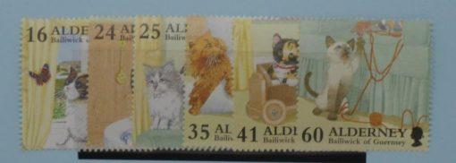 Alderney Stamps, 1996, SGA89-A94, Mint 5