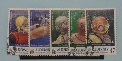 Alderney Stamps, 1998, SGA110-A114, Used. 5