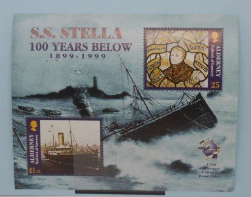 Alderney Stamps, 1999, MSA124, Mint 3