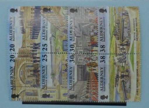 Alderney Stamps, 1999, SGA132a, A134a, A136a, A138a, Mint 5