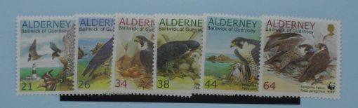 Alderney Stamps, 2000, SG A140-A145, Mint 5