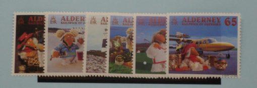 Alderney Stamps, 2000, SG A146-A151, Mint 5