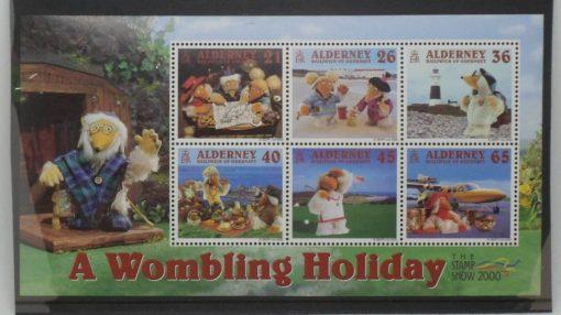 Alderney Stamps, 2000, MSA152, Mint 5