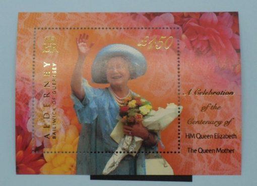 Alderney Stamps, 2000, MSA153, Mint 5
