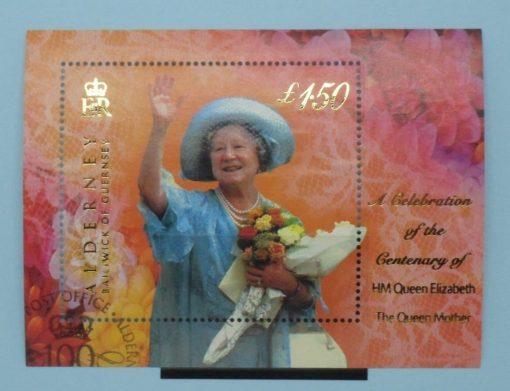 Alderney Stamps, 2000, MSA153, Used 5