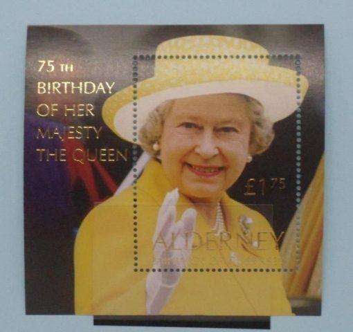 Alderney Stamps, 2001, MSA162, Mint 5