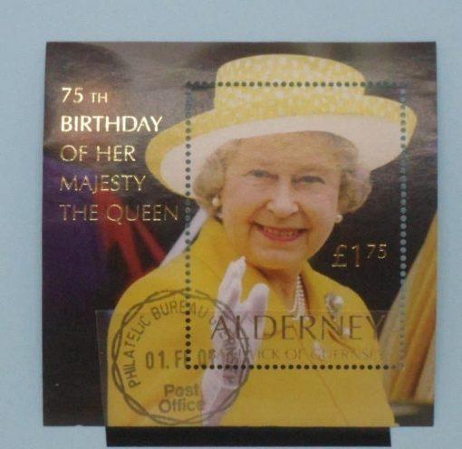 Alderney Stamps, 2001, MS A162, Used, 5