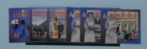 Alderney Stamps, 2001, SGA163-A168, Mint 5