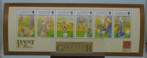 Alderney Stamps, 2001, MSA175, Mint 5