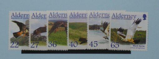 Alderney Stamps, 2002, MSA185-A190, Mint 5