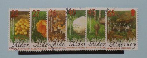Alderney Stamps, 2004, SGA223-A228, Used 5