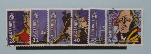 Alderney Stamps, 2005, SGA253-A258, Used 3
