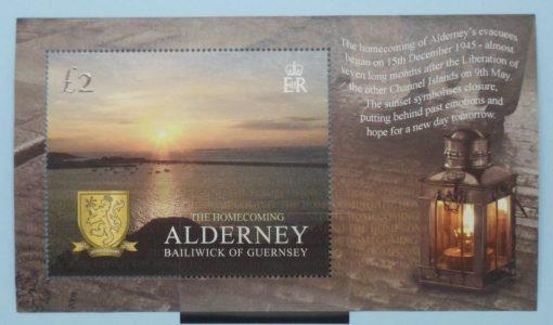 Alderney Stamps, 2005, MSA266, Used 5