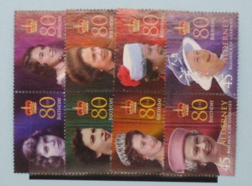 Alderney Stamps, 2006, SGA274-A280, Used 5
