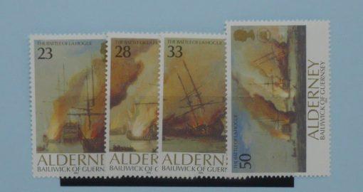 Alderney Stamps, 1992, SGA52-55, Mint 5