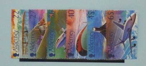 Alderney Stamps, 2003, SGA204-A209, Used 5