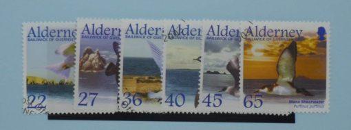 Alderney Stamps, 2003, SG A210-A215, Used 5