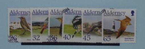 Alderney Stamps, 2004, SGA235-A240, Used 5