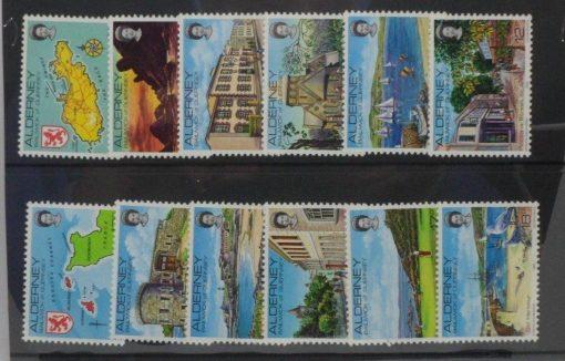 Alderney Stamps, 1983, SGA1-A12, Mint 3