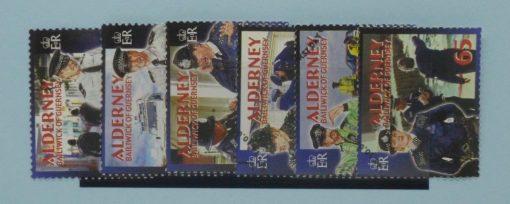 Alderney Stamps, 2003, SGA217-A222, Used 5