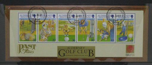 Alderney Stamps, 2001, MSA175, Used 5