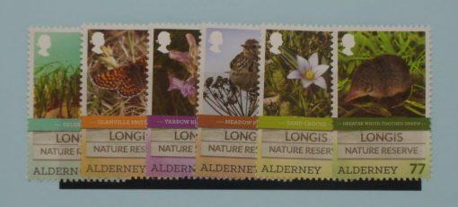 Alderney Stamps, 2016, SGA567-A572, Mint 5