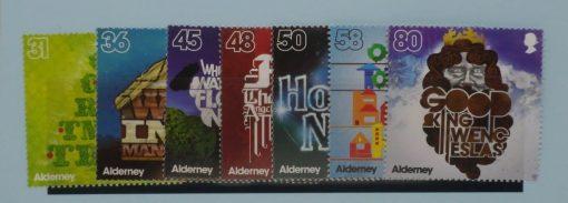 Alderney Stamps, 2010, SGA408-A414, Mint 5