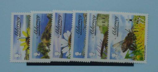 Alderney Stamps, 2009, SGA356-A361, Mint 5