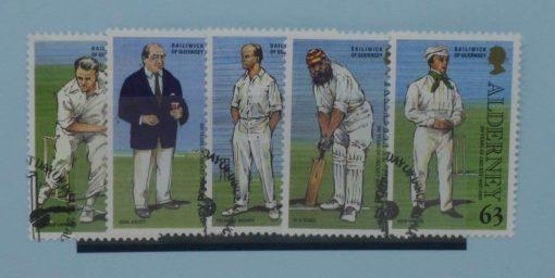 Alderney Stamps, 1997, SGA96-A100 used 5