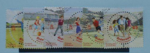 Alderney Stamps, 2004, SGA229-A234, Used 5