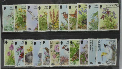 Alderney Stamps, 1994-98, SGA60-A77, Used 5