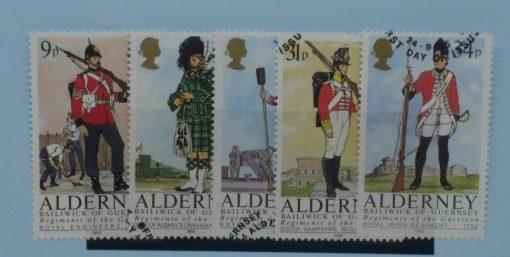 Alderney Stamps, 1985, SGA23-A27, Used 5