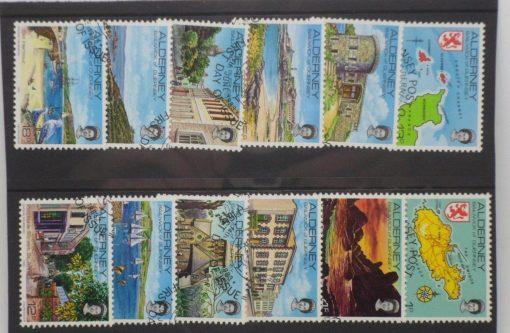 Alderney Stamps, 1983, SGA1-A12, Used 5